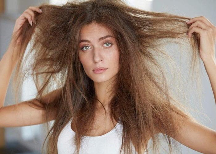 hidratação para cabelo seco