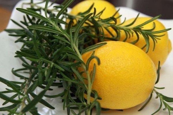 Shampoo caseiro de alecrim e limão